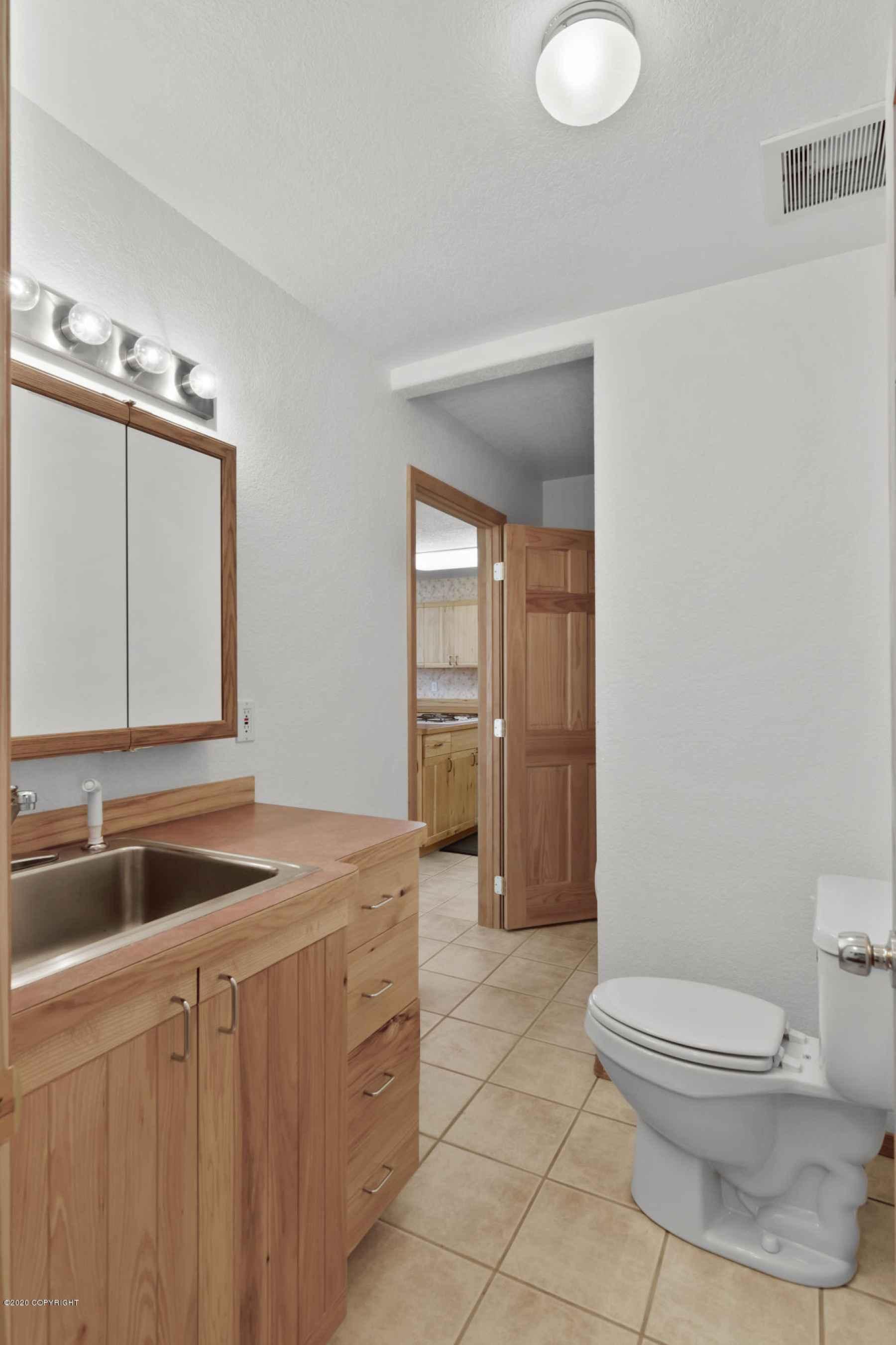Downstairs 1/2 Bath & Laundry