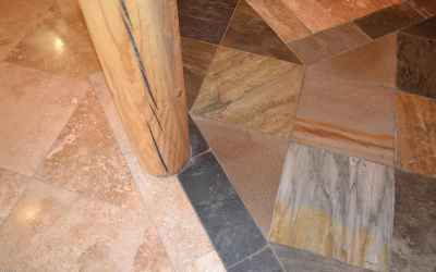 Slate & Travertine Tiles