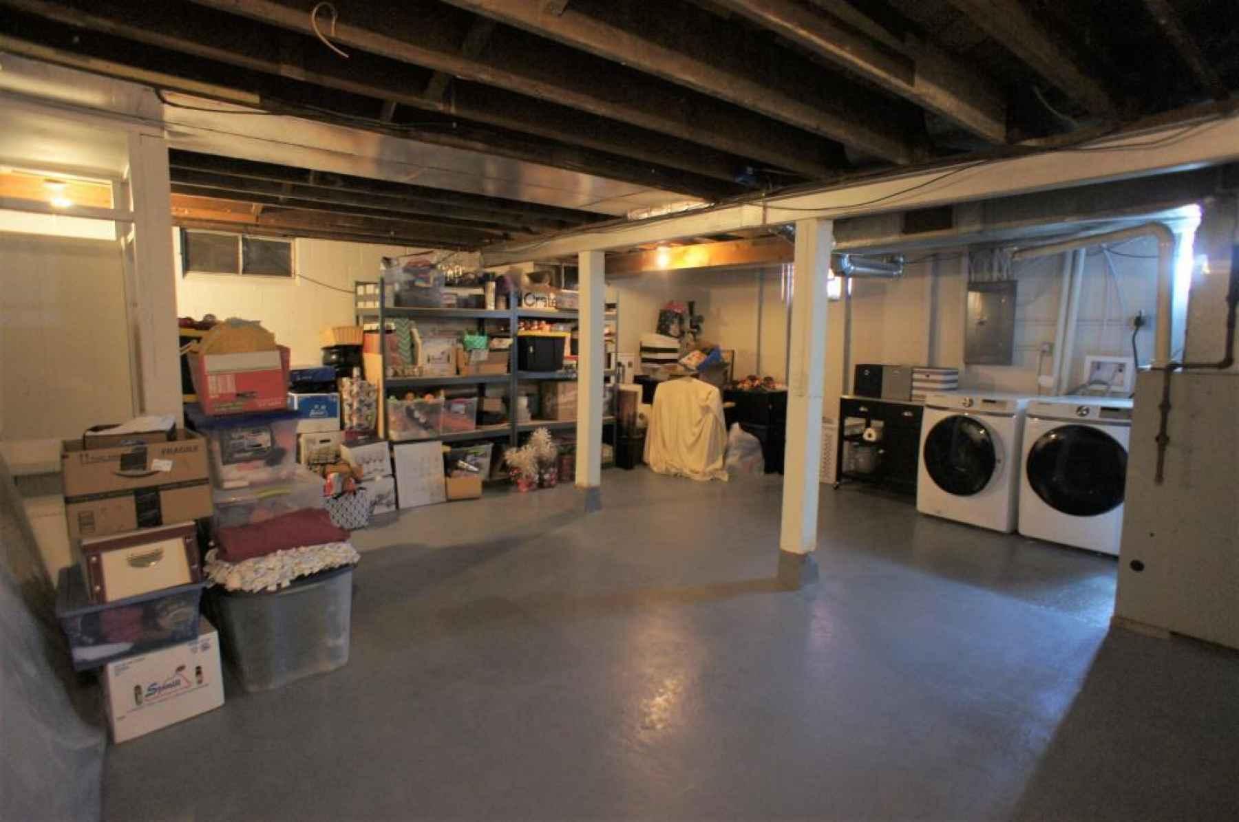 13 basement and laundry
