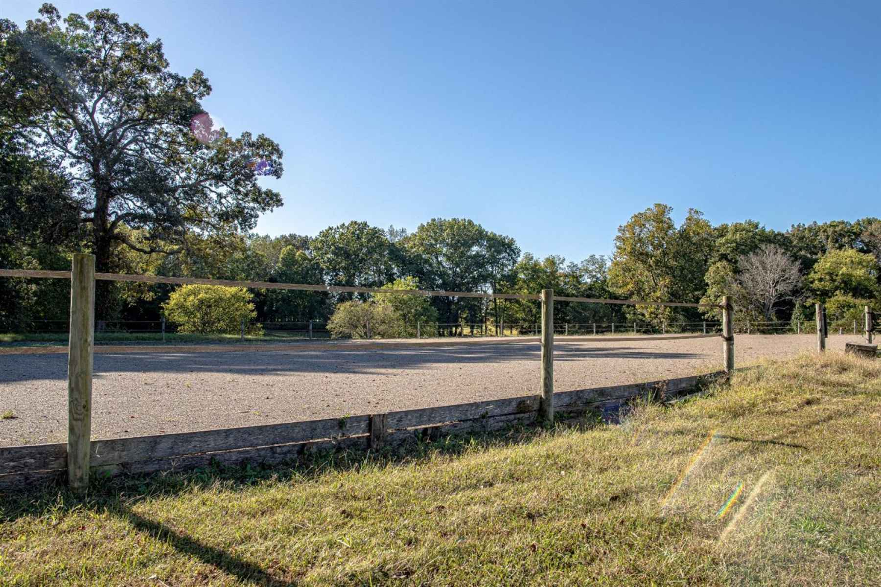 Outdoor Arena Off Of The Barn