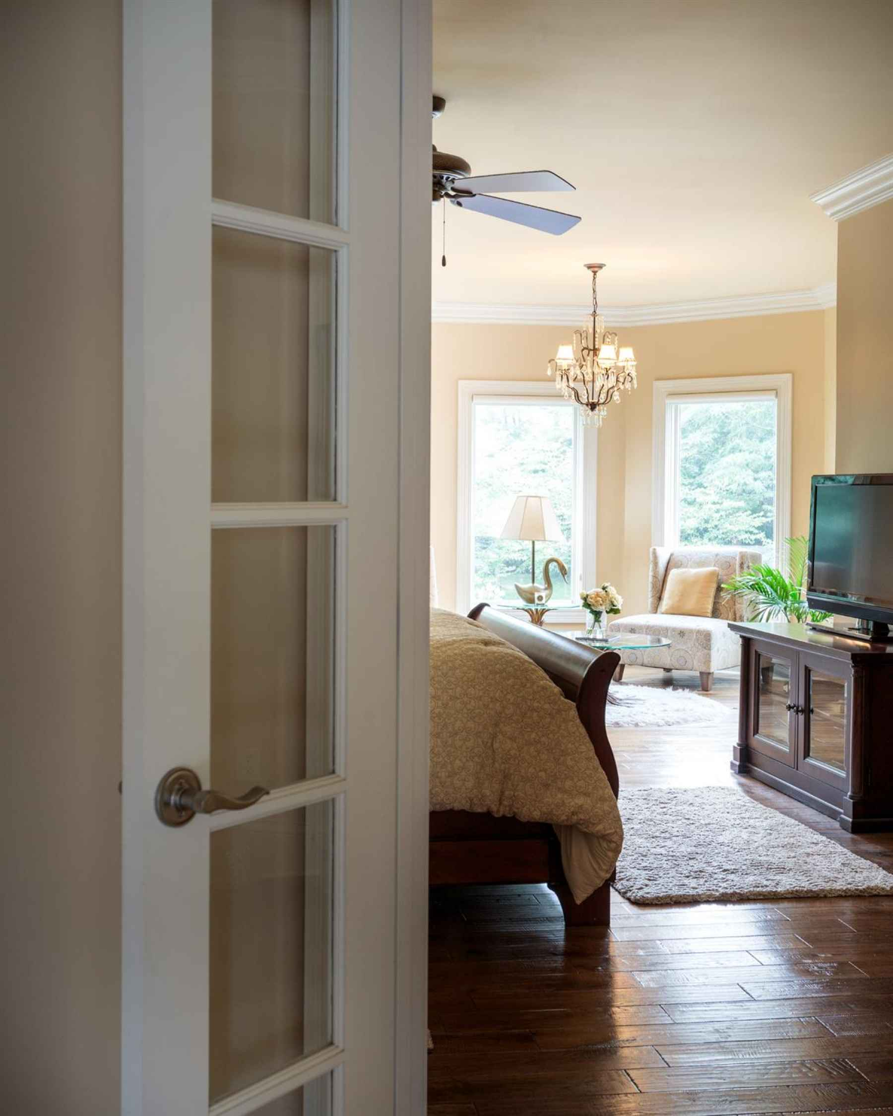 Entrance into the Master Suite.