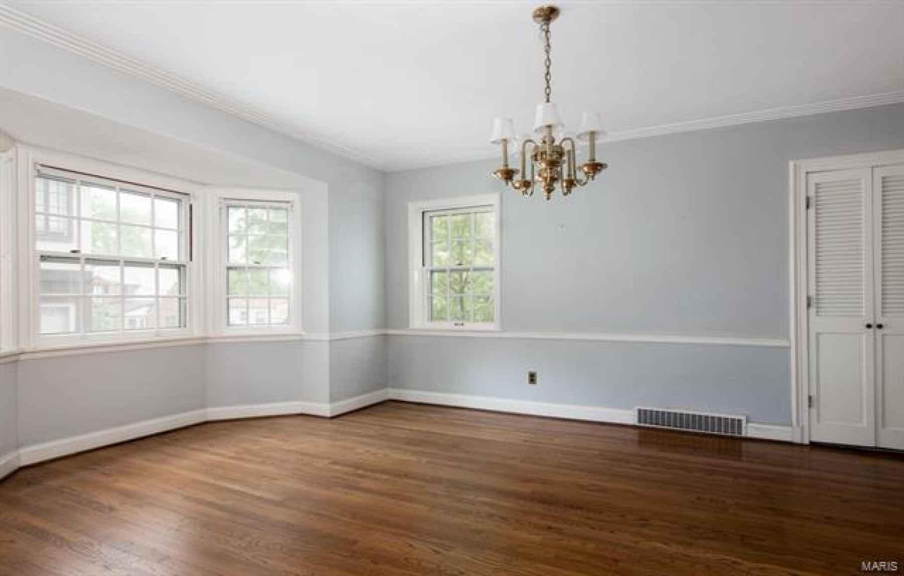Dining Room Features Bay Window, Pantry, Hardwood Floors