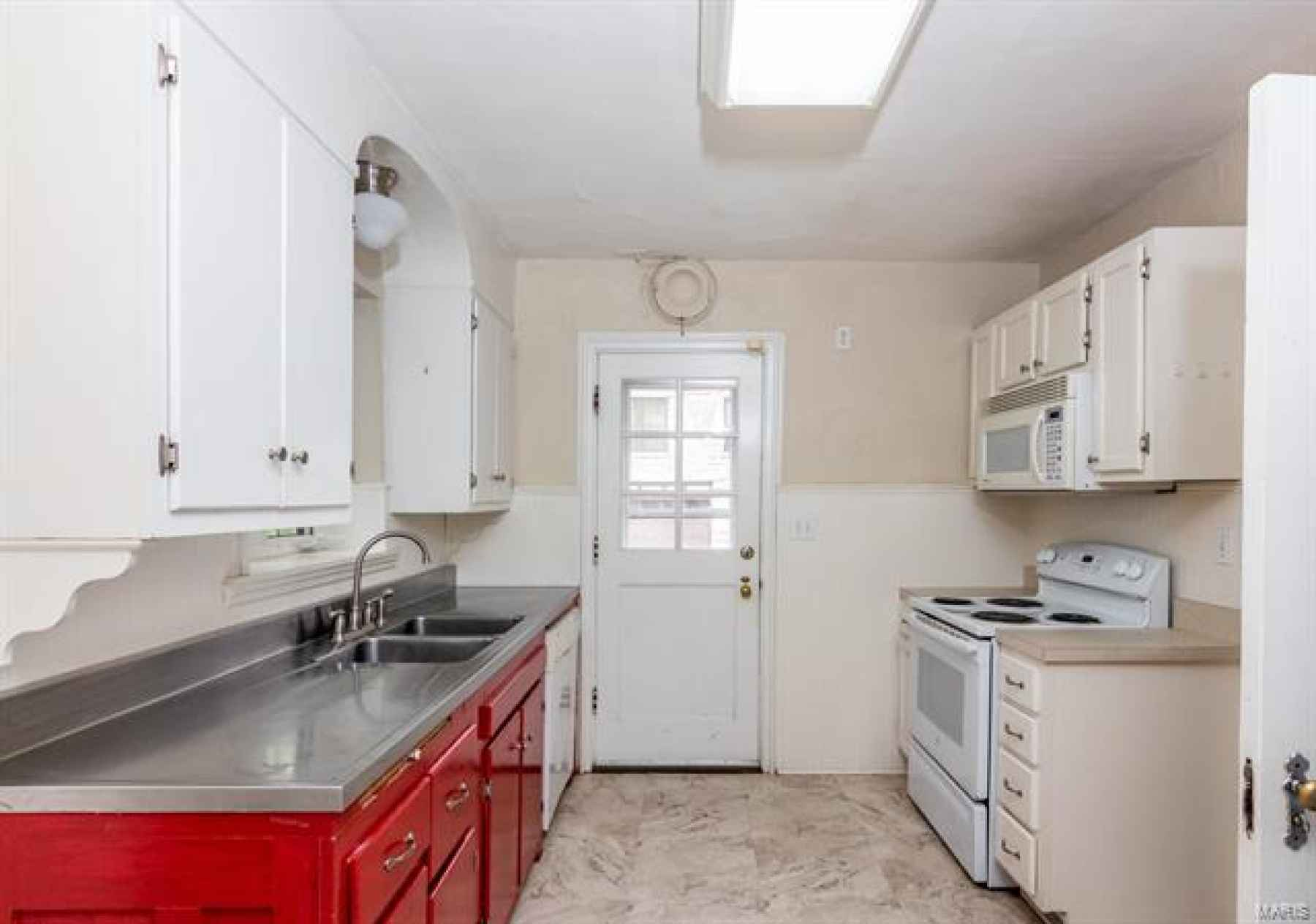 Kitchen Access from Dining Room or Hallway - Also leads to side of the house
