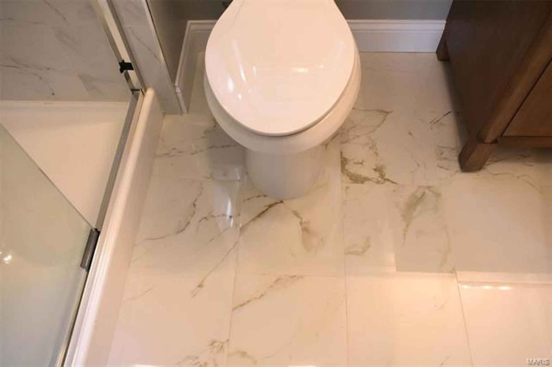 MAIN FLOOR - MASTER BATHROOM FLOORING TILES