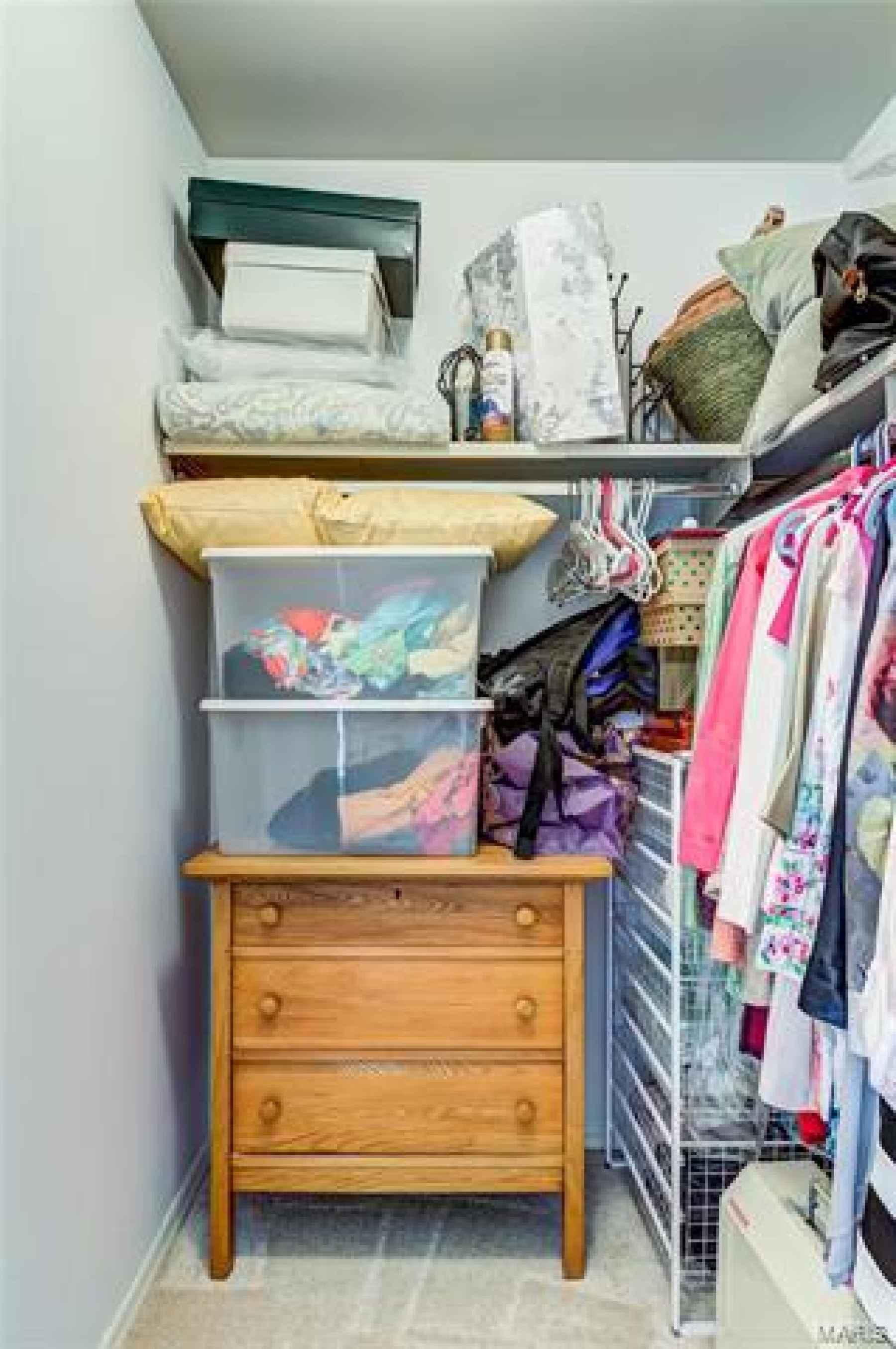 2nd bedroom walk in closet