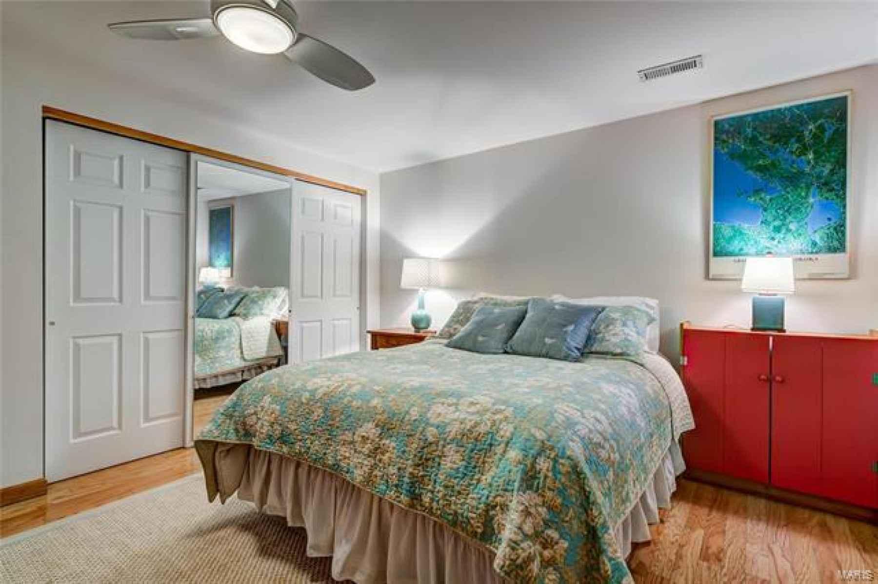 4th bedroom with cedar closet!