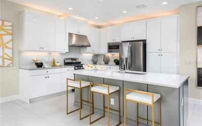 Builders Catalina Kitchen view Model Picture!