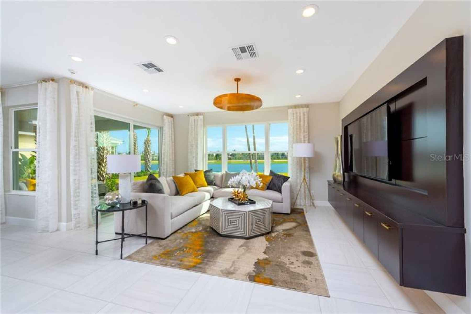 Builders Catalina Great Room view Model Picture!