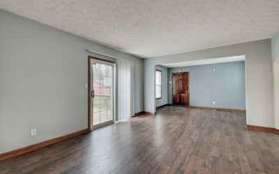 Flex spaces off the living room and kitchen. Potential family room, TV room, office and more. Slidin