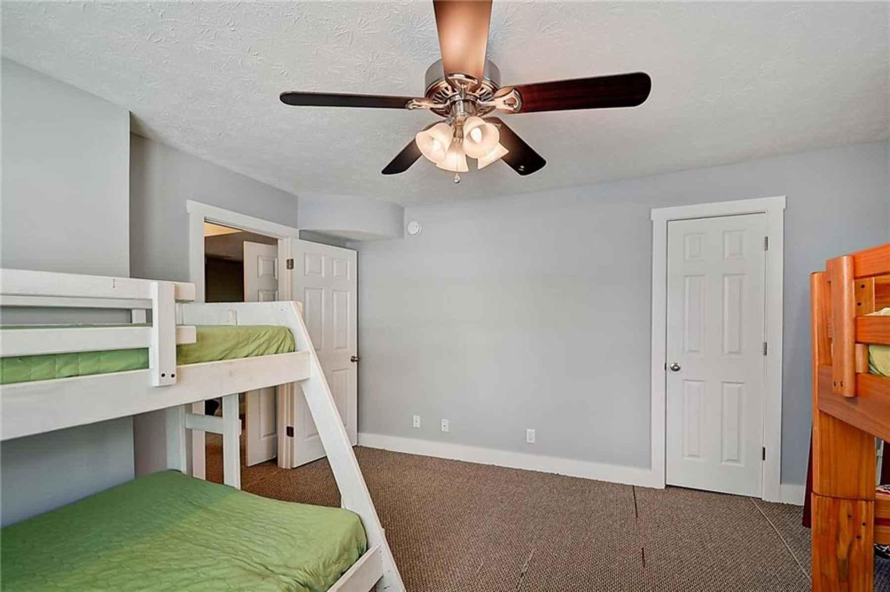 Second floor. Second bedroom located in the northeast corner of home. Closet door on the right side