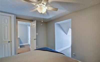Third floor. Fourth bedroom. Located in the southeast corner of the home. Entrance into hallway show