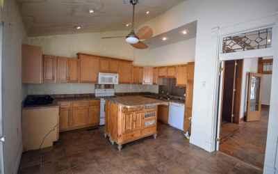 Main floor. Kitchen.