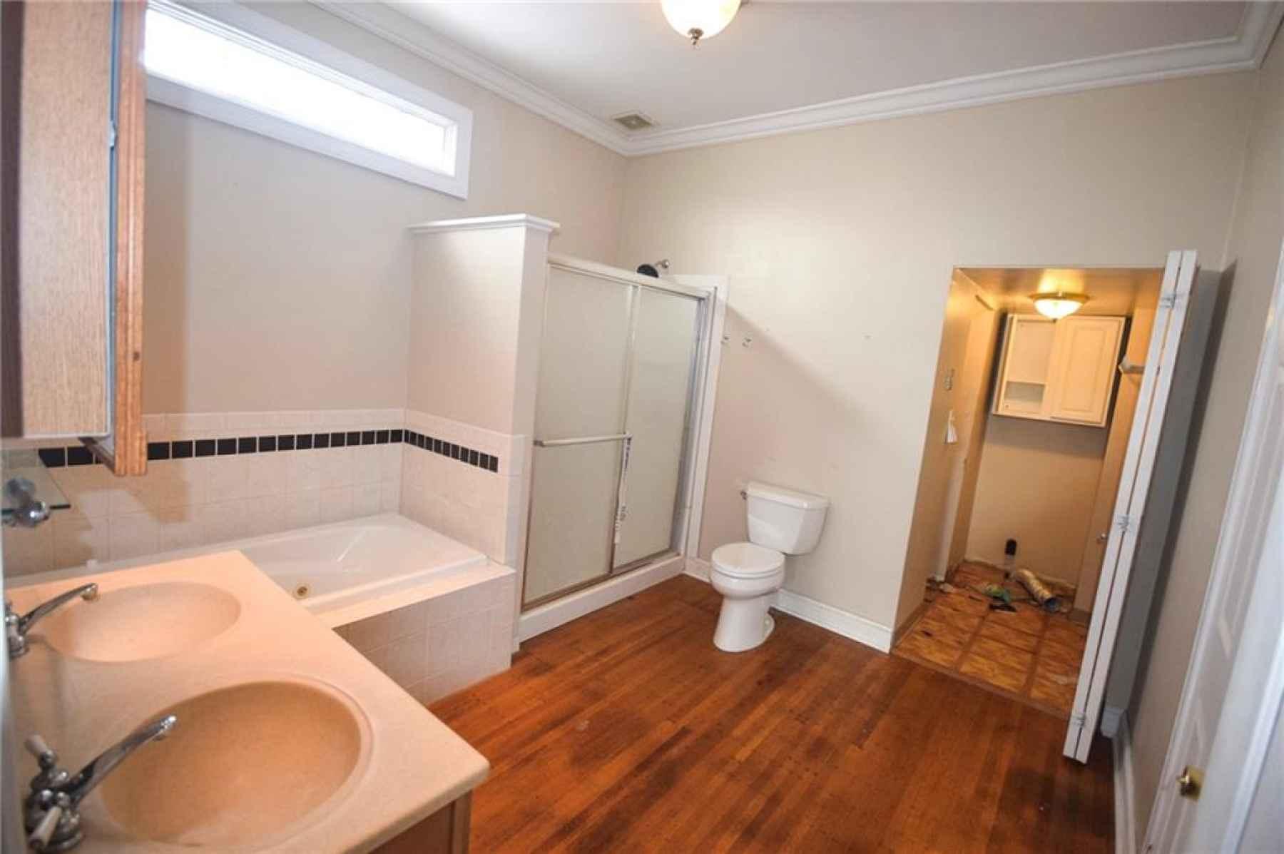 Second floor. Master bedroom closet.