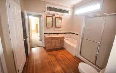 Second floor. Master bathroom.