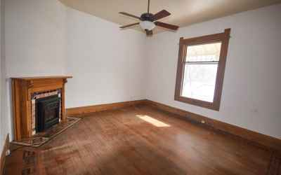 Main floor. Gas log fireplace in Great Room.