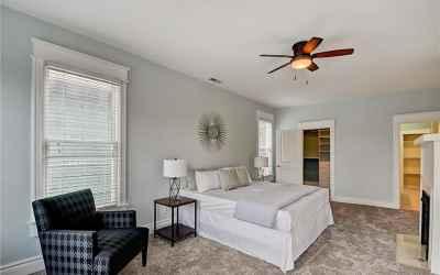 Second Floor. Master Bedroom.