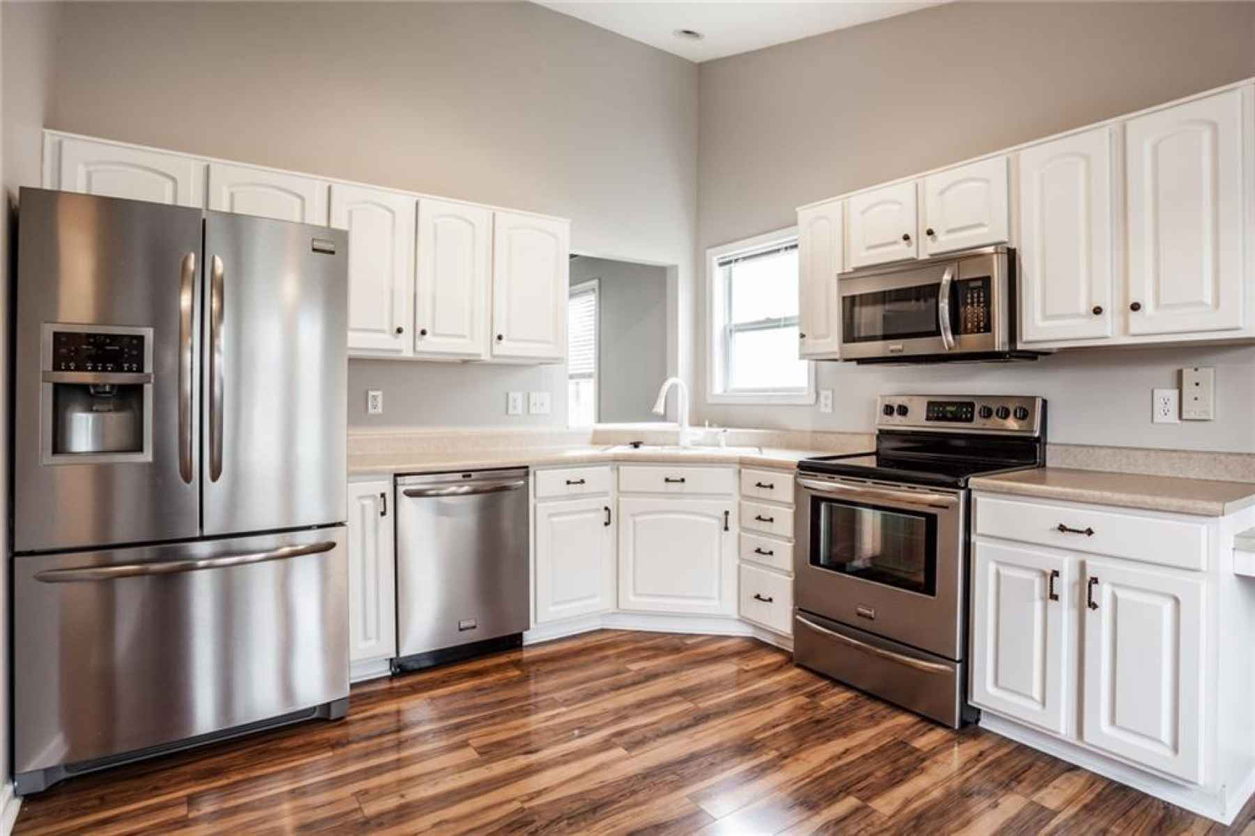 Stainless appliances stay!