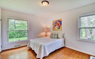 New, large windows in your master bedroom.