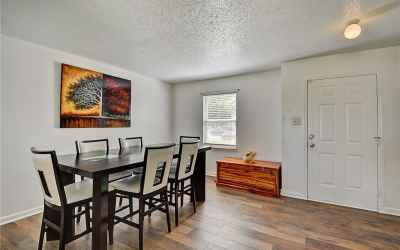 Front door opens directly into a spacious foyer/formal dining area!