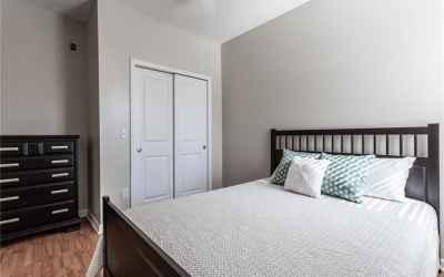 Bedroom 1 on main floor.
