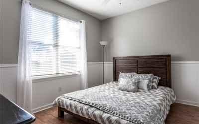 Bedroom 2 on main floor.