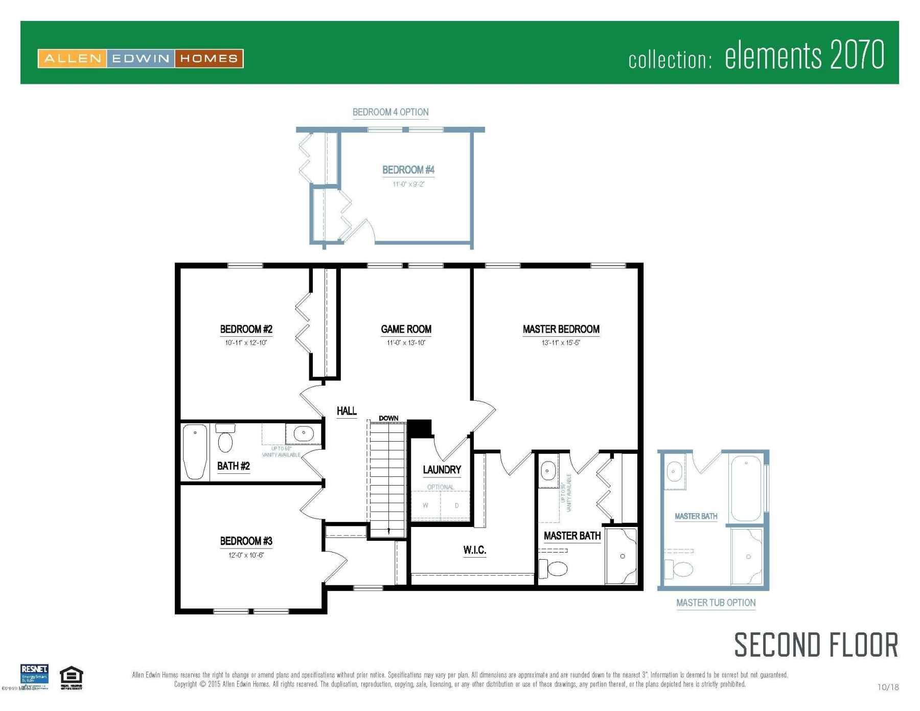 Elements 2070 V8.0a Second Floor