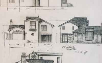 Front elevation drawing as provided by Seller