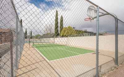 048_Tennis And Basketball Court