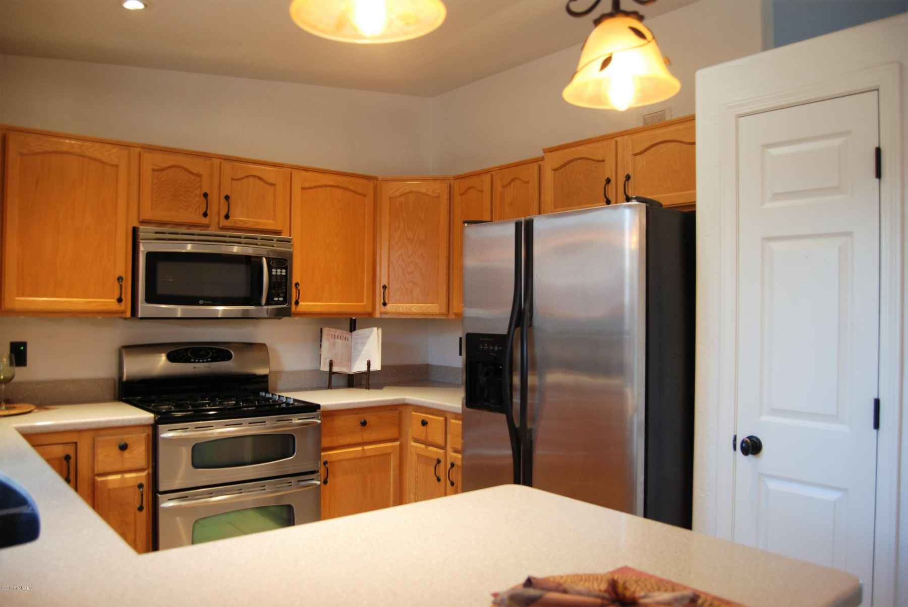 kitchen with solid surface countertops a