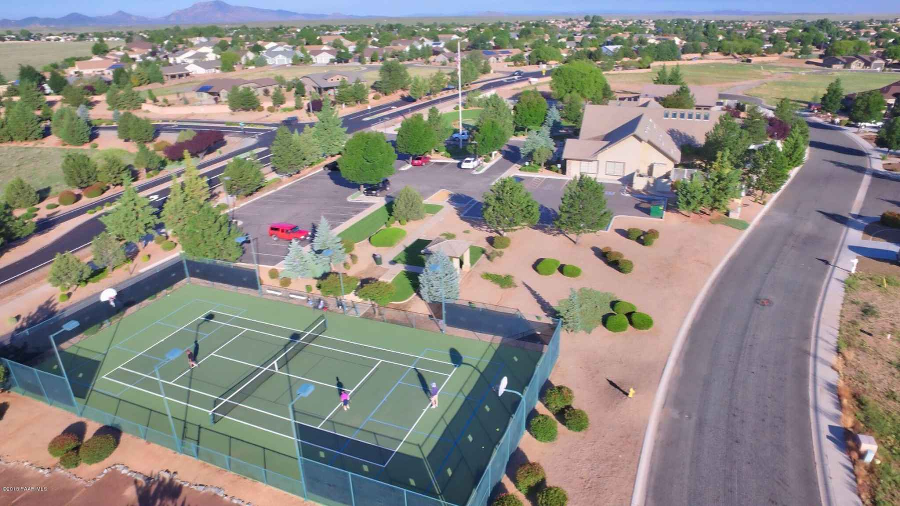 Aerial View of Clubhouse Grounds