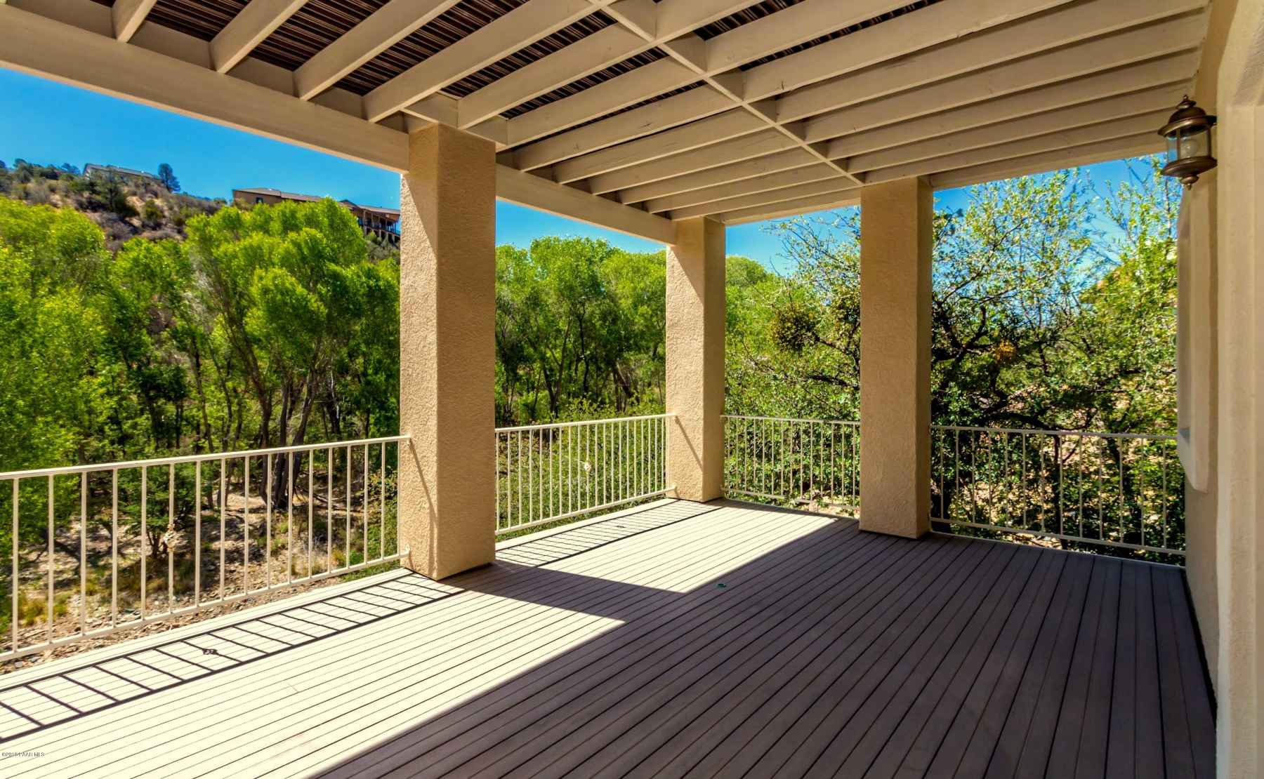Covered Deck - Lower Level