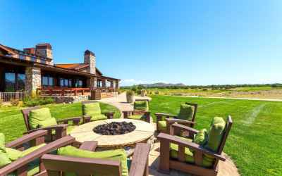 10 Fire Pit at Clubhouse