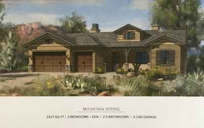 Mountain Springs Exterior Elevation