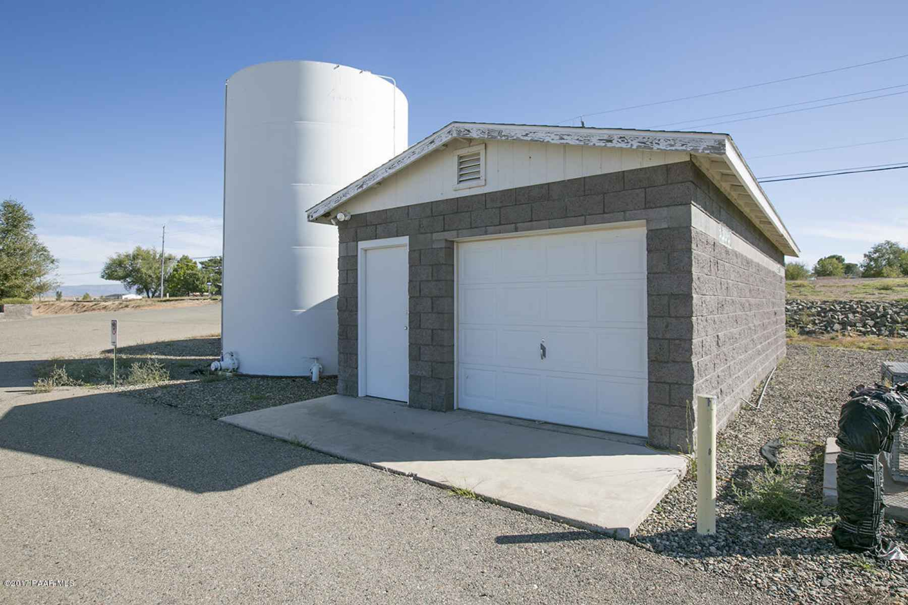 Well House and Storage Tanks