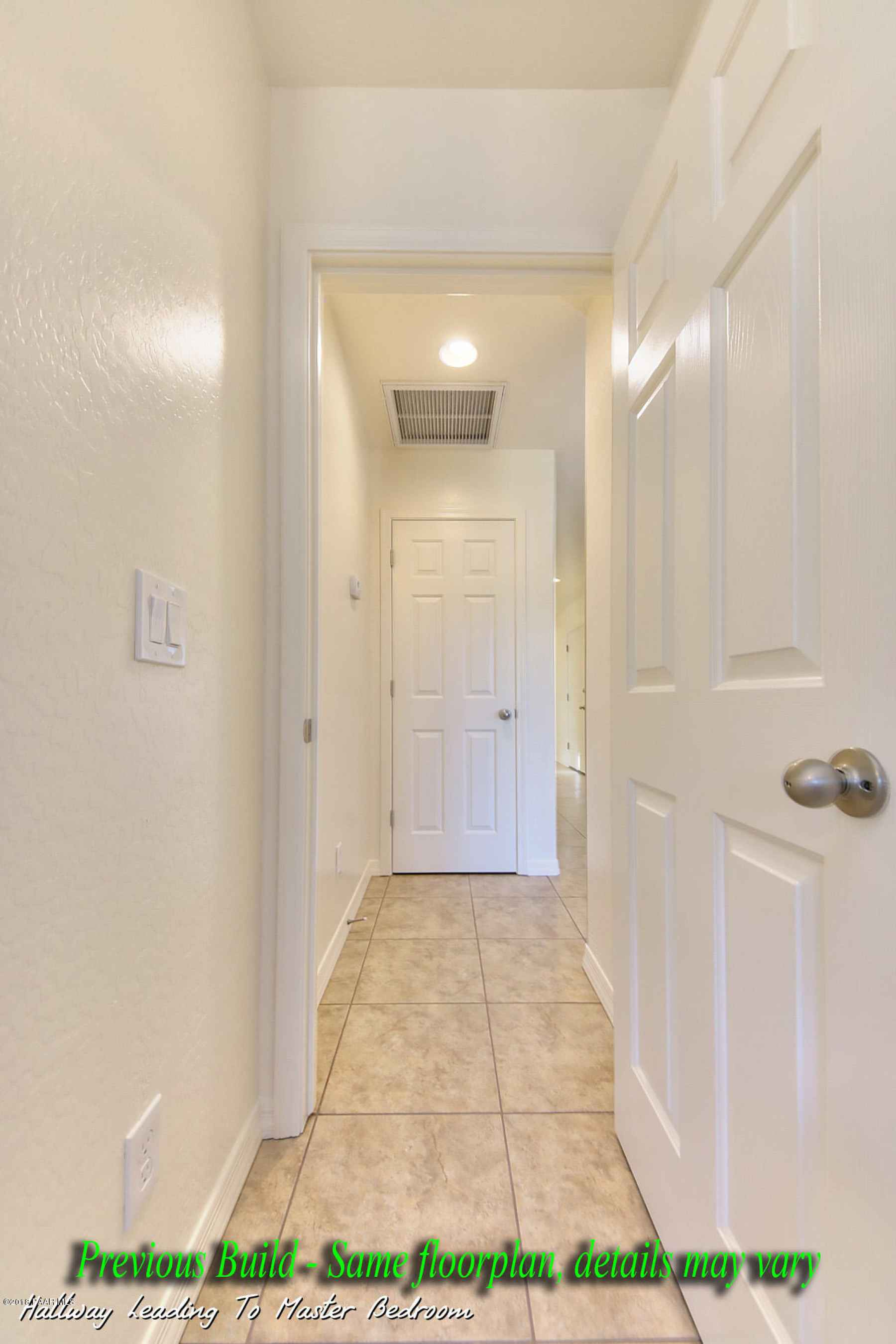 Hallway Leading To Master Bedroom Pic 1
