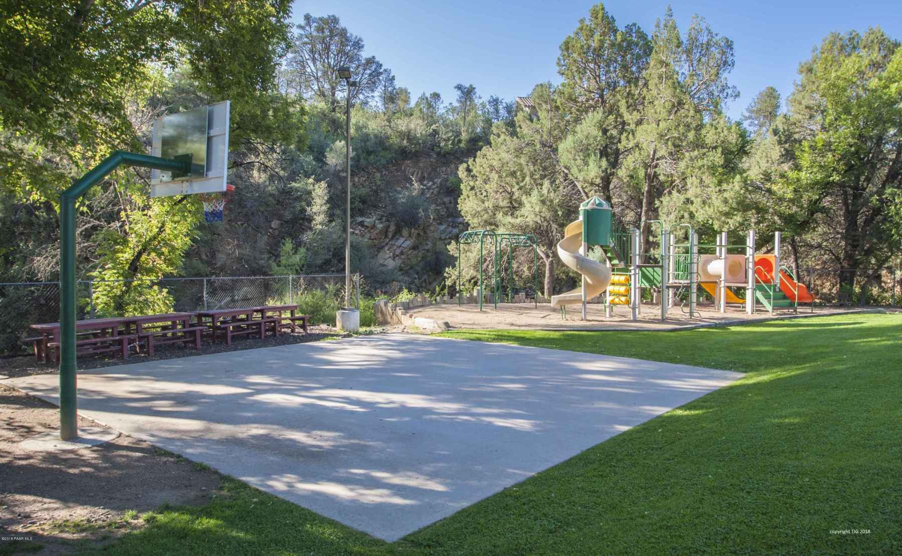 Clubhouse Play area & Basketball Court -